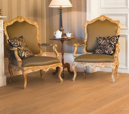 Piso Laminado Quick Step Smart - Carvalho Natural Luar